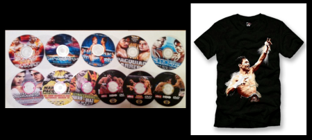A box set of his greatest fights... and a personal T-shirt will. hopefully, lead to better relations