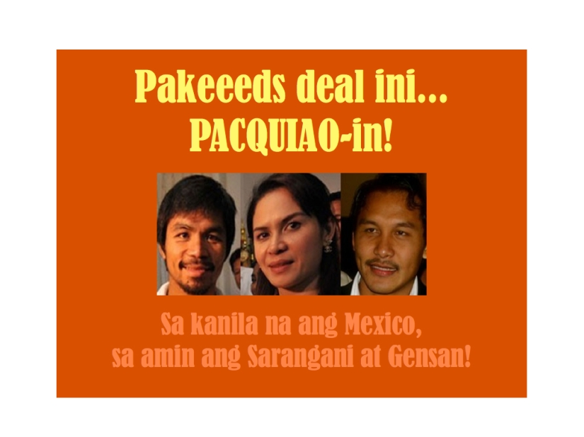 Tatlong Pacquaio ang sasalang sa darating na eleksyon