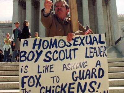 Tanggap na ang bading sa Boy Scouts