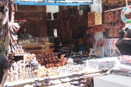 carvings, painting by local artists, sarongs - at very affordable prices