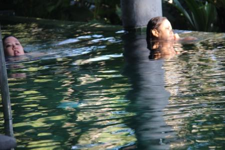 nothing invigorates like an afternoon swim