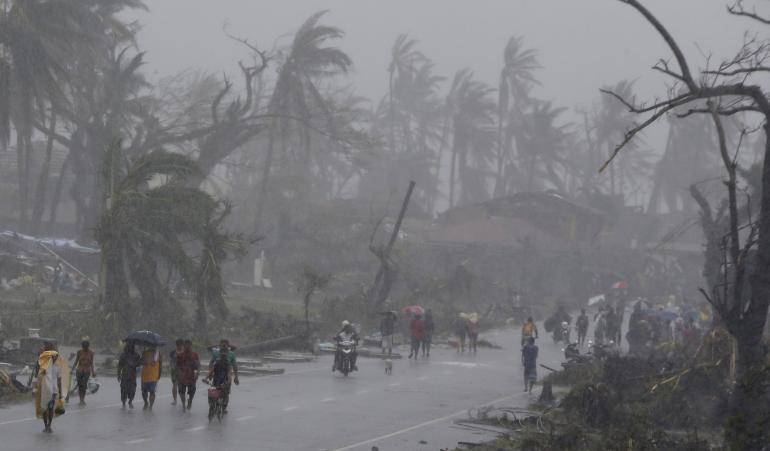 binisita tayo ng Yolanda - ang pinakamatinding bagyong tumama sa planeta