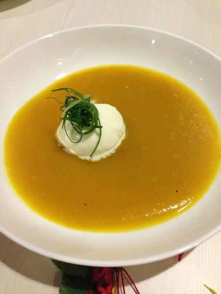 Pumpkin Vanilla SOup (The end to my 6-year addiction to Cibo's pumplin soup?