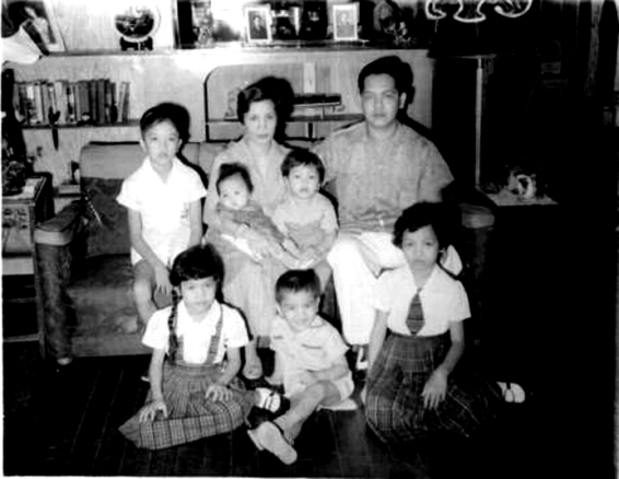 An old family picture B.G. (Before Gina, our youngest)
