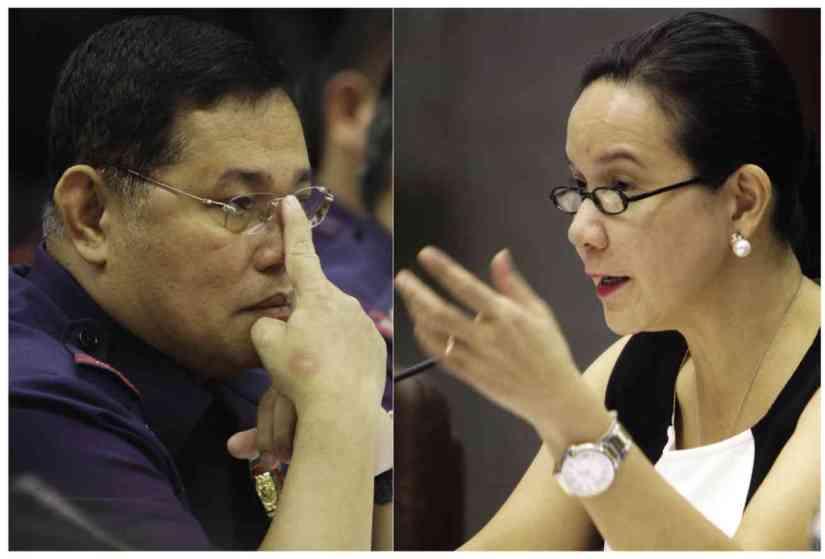 Nagtataka si Sen Grace Poe  kung papaano nakakuha si Purisima ng 75% discount sa magarang Prado SUV niya (Photo from Philippine Daily Inquirer)