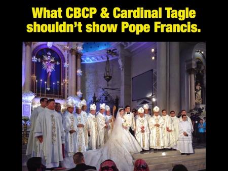 Hindi matutuwa si Pope Francis